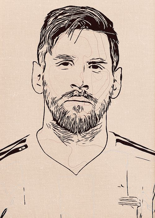 Lionel Messi Artwork in 2020 | Messi drawing, Art, Lionel ...
