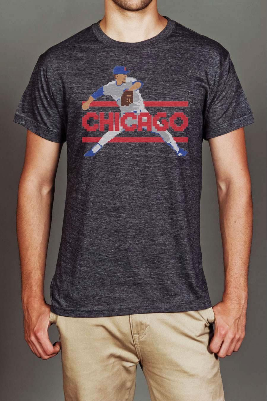 8 BIT APPAREL CHICAGO NATIONAL PASTIME