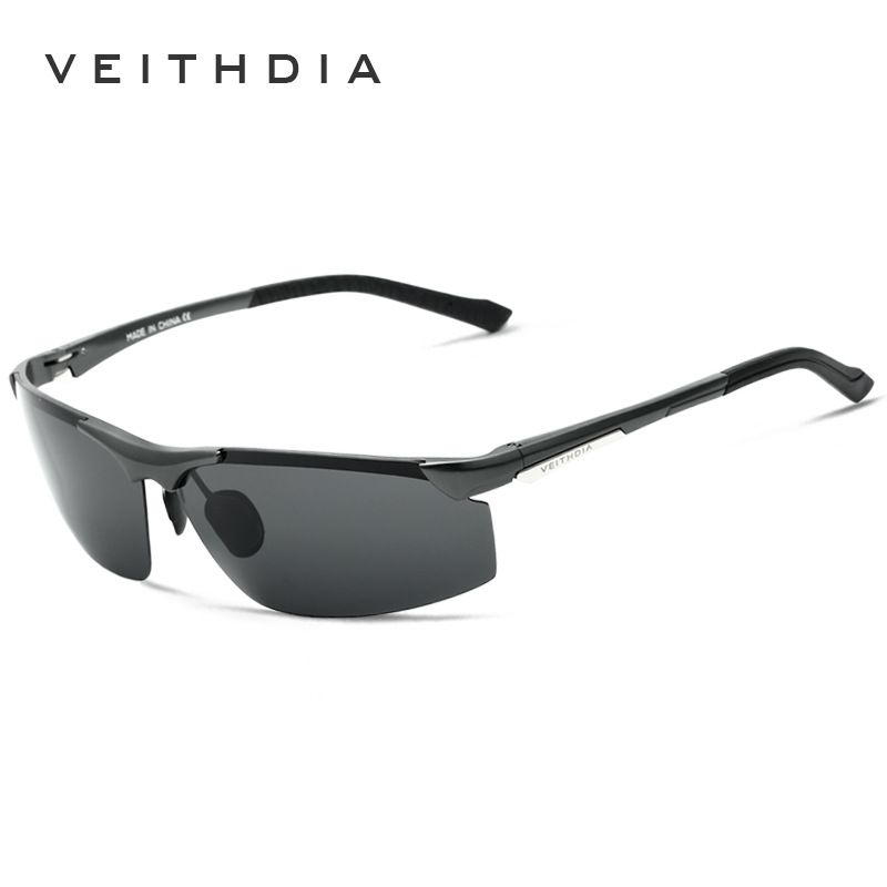 c799aac2813 Veithdia Polarized Sunglasses Men Driving Male Aluminum Magnesium Sun  glasses Coating Mirrored Glass for Mens Eyewear Accessory men outfit   Find  out more ...