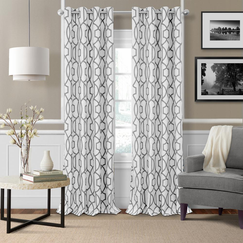 Window covering ideas  elrene celeste  in w x  in l polyester single blackout window