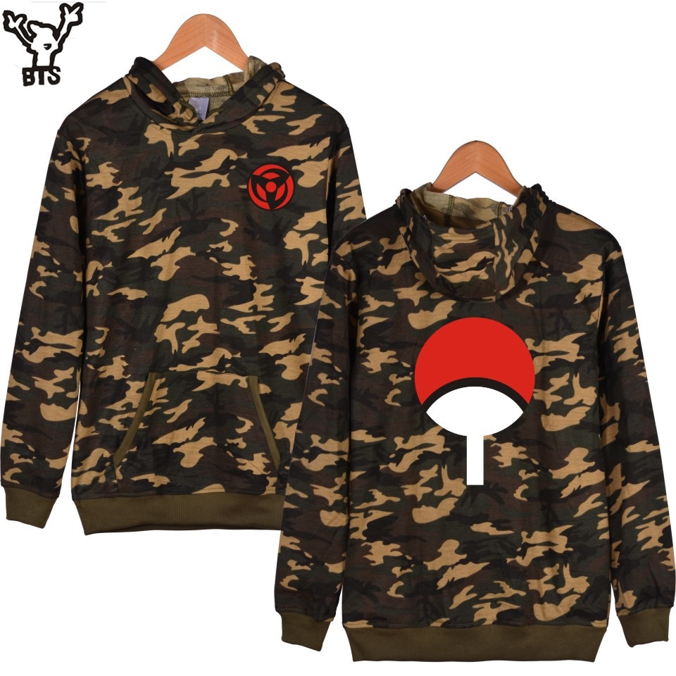 watch now bts classic naruto cartoon camouflage hooded