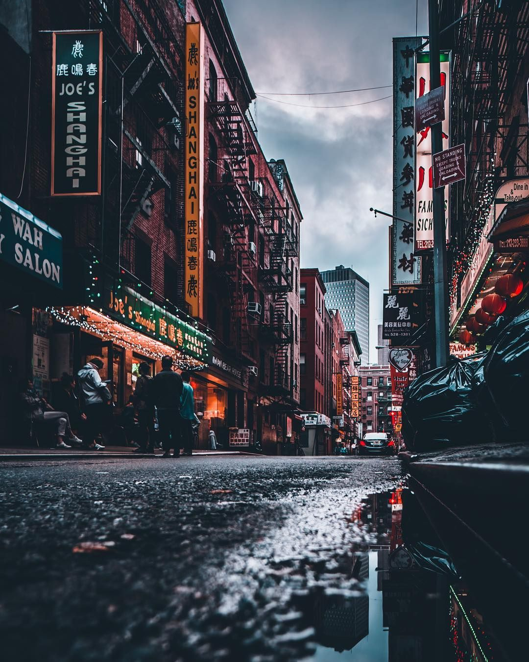 Stunning Moody Street Photos of New York City by Mazz ... City Street Photography