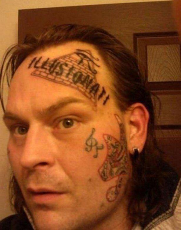 Wtf Good Luck At That Job Interview Bad Tattoos Tattoo Fails Bad Tattoos Fails