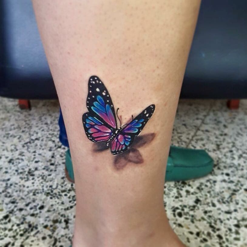 Schmetterling Tattoo -  Schmetterling Tattoo  - #butterflytattoo #halfbutterflytattoo #schmetterling