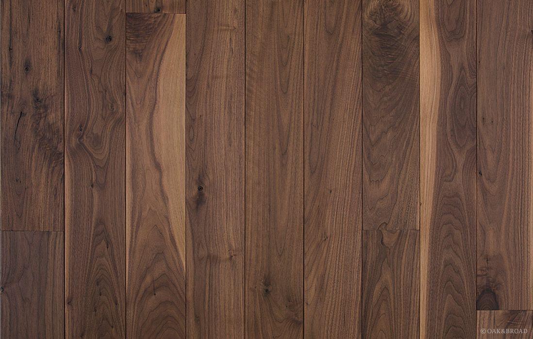 Wide Plank Black Walnut Hardwood Floor By Oak And Broad