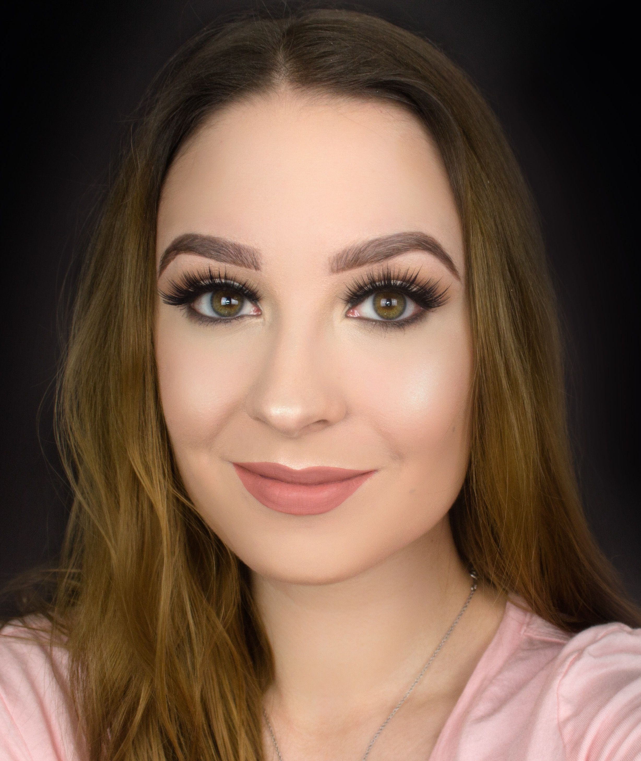 easy natural prom makeup for brown eyes / hazel eyes makeup