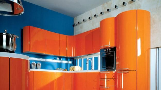 Kitchen Design Orange Captivating 25 Ideas For Modern Interior Decorating With Orange Color Shades 2018