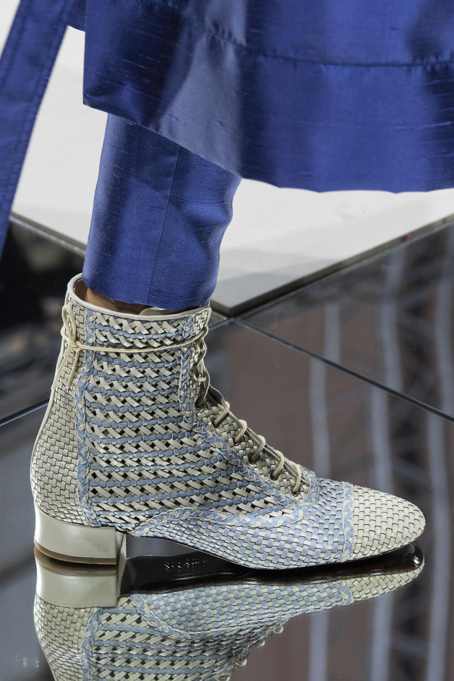 Giorgio Armani At Milan Fashion Week Spring 2020 Casual Shoes Women Women Shoes Top Women Shoes