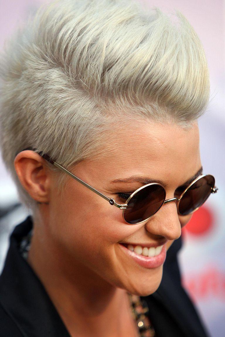 short funky hairstyles for girls hair pinterest funky