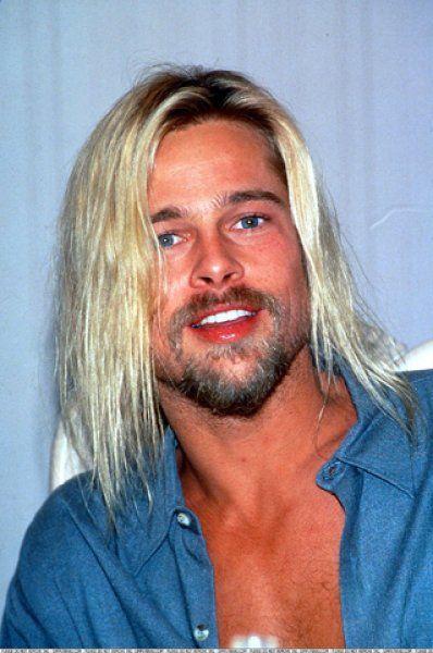Do You Think Brad Pitt Could Play Kurt Cobain Korean Male Hairstyle Short Cool Blonde Hair Men New Hair Style