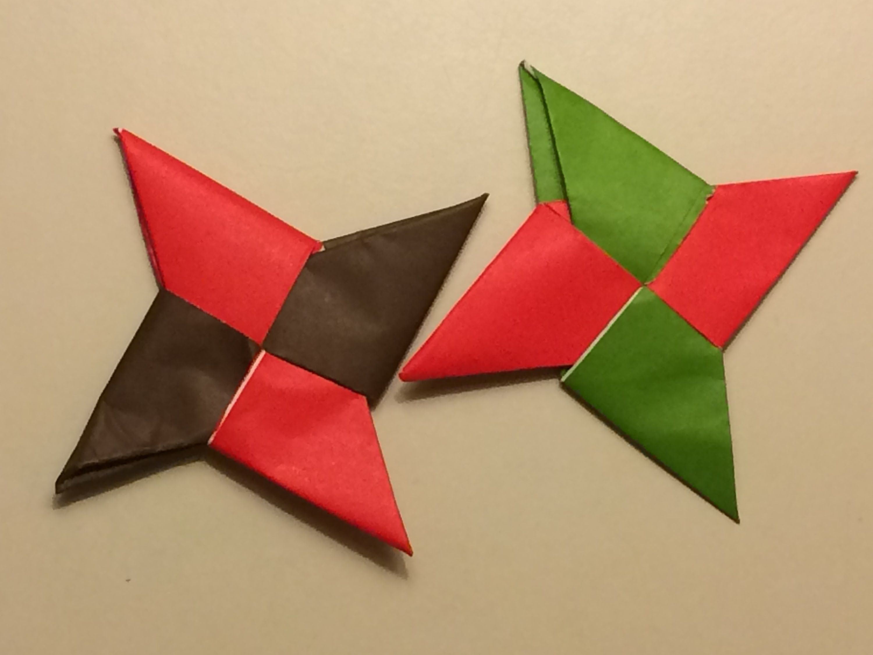Origami Ninja Star fun and easy for kids with step by step ... - photo#42