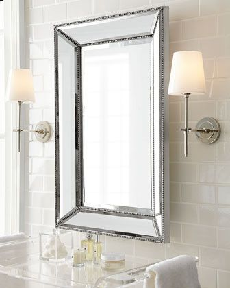 Thomas Obrien Bryant Sconce With Glass Shade Visual Comfort Bathroom Wall Sconces Bathroom Sconce Lighting
