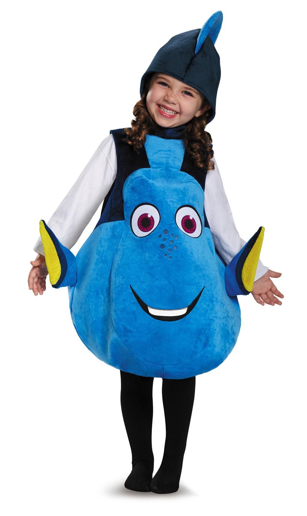 Costume enfant doris deluxe taille unique ecole - Nemo et doris ...