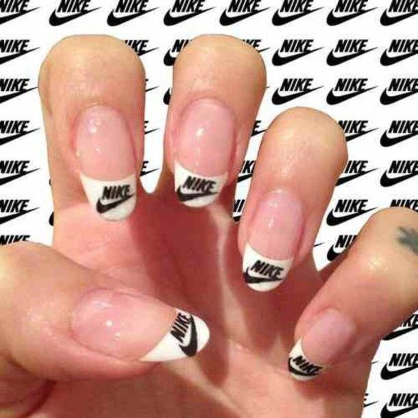 Uberprufen Sie Nagel Aufkleber Sticker Gruppe Von 50 Nike Nails