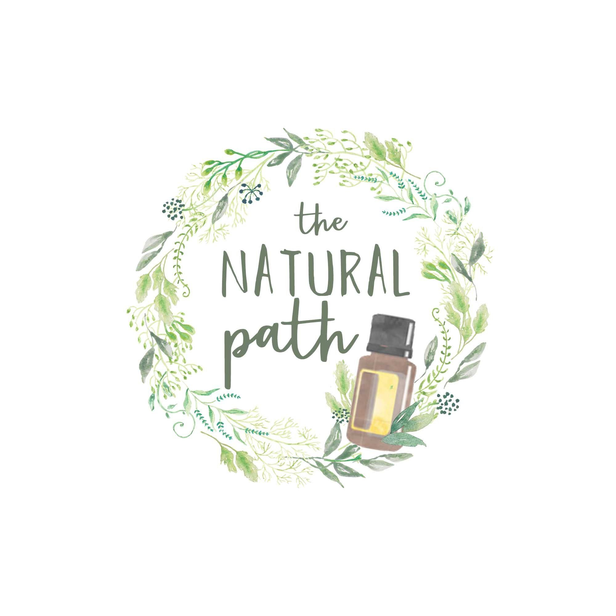 Premade Custom Logo The Natural Path Essential Oil Design Branding Consultant By Charlisweb On