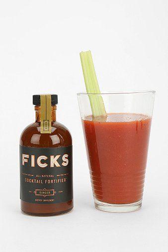 Ficks Hangover Preventative Cocktail Mixer