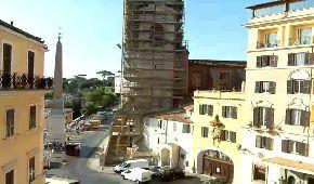 Webcam Piazza Trinità dei Monti