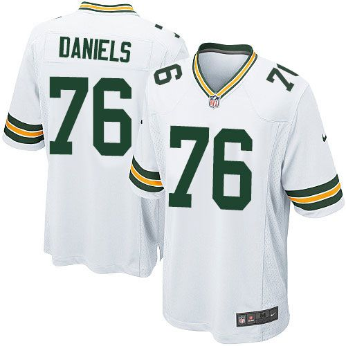 Nike Limited Mike Daniels White Youth Jersey Green Bay Packers 76 Nfl Road