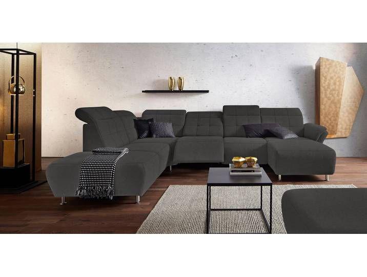 Places Of Style Wohnlandschaft Manhattan 2 Sitze Mit Elektrischer R Furniture Home Decor Home