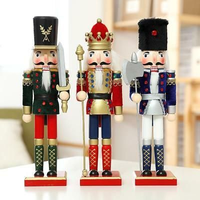 Find many great new & used options and get the best deals for Handmade Christmas Nutcracker Walnut Soldiers Wooden Xmas Decoration Ornament  at the best online prices at eBay! Free shipping for many products!