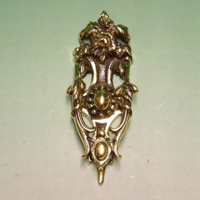 Awesome Solid Brass Victorian Rose Door Knocker