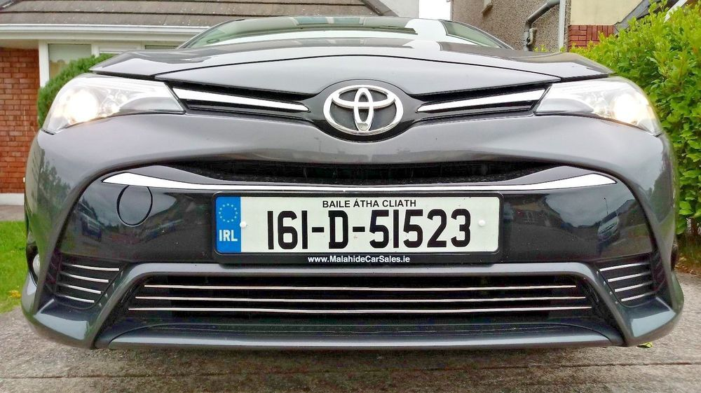 Toyota Avensis T27 T28 Zrt27 Adt27 Grill Kuhlergrill Chrom Tuning Sportgrill Toyota Avensis Toyota Honda Logo