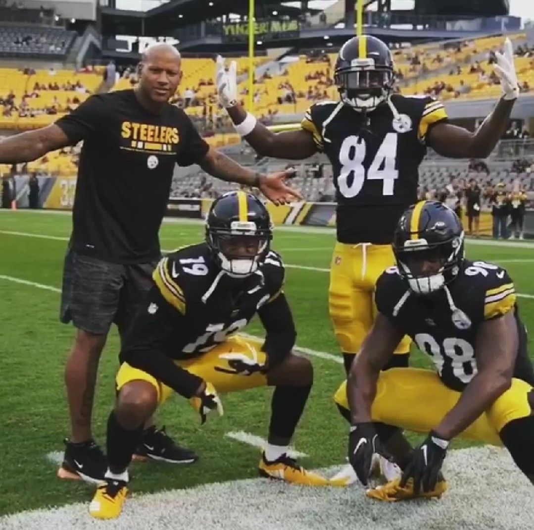 Vince, JuJu, Antonio, and Ryan Shazier Pittsburgh