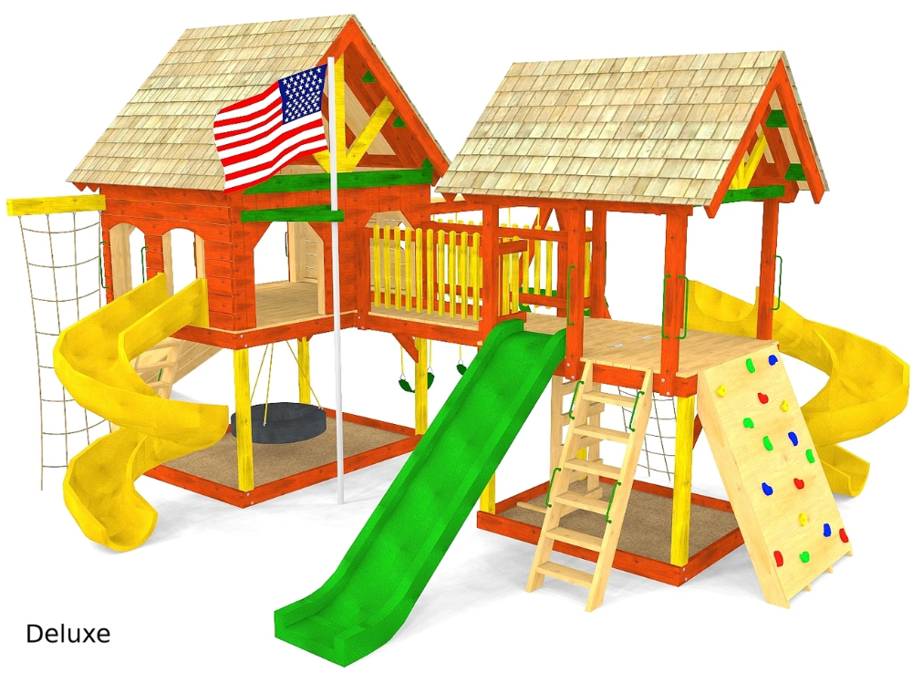 Photo of O'Connor Play-set Plan (2‑Sizes)