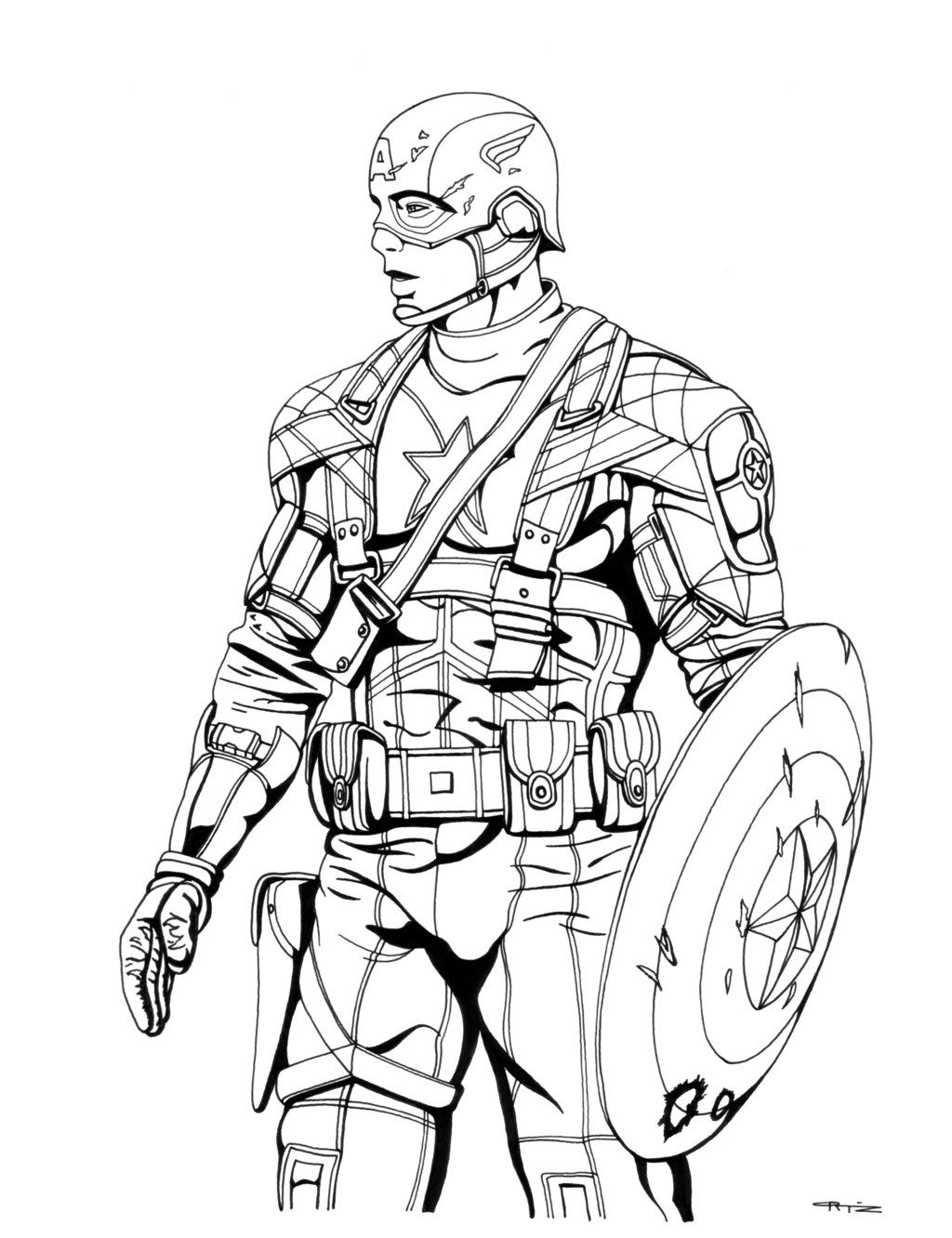Pin By Paige Madeline On Coloring Pages Avengers