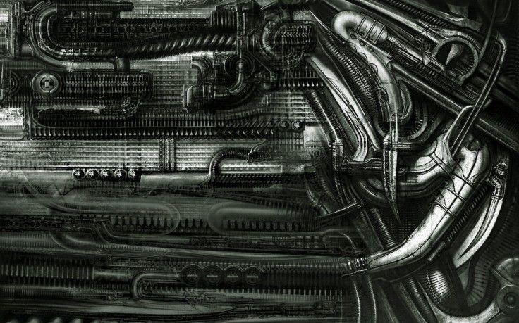 H R Giger Artist Abstract Hd Wallpaper Desktop