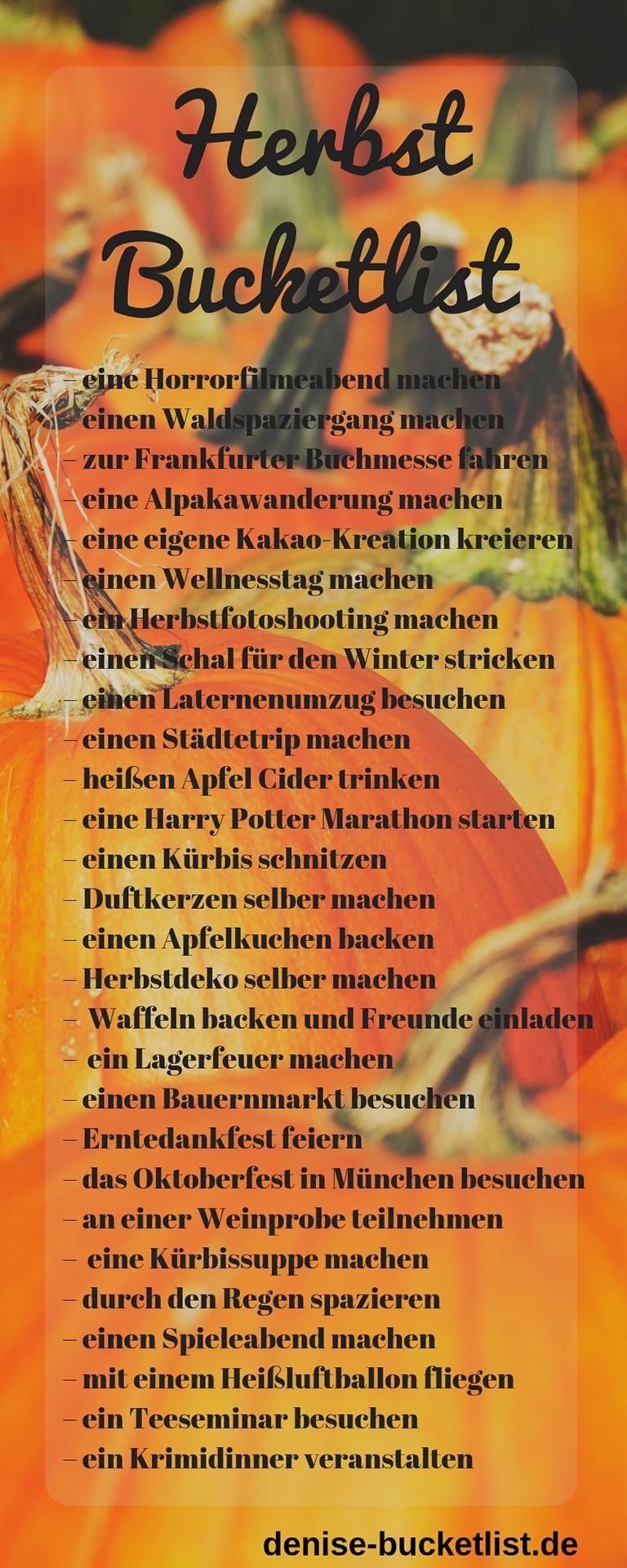Fall Bucket List 2019 🍂 Ideas & Tips for the Perfect Fall