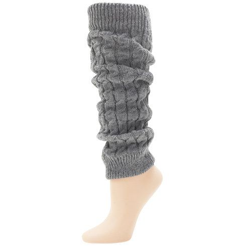 Womens - Minicci - Women's (1 pk) Cable Knit Leg Warmers - Payless Shoes