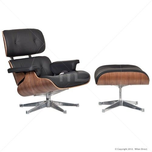 Lounge Chair And Ottoman Eames Reproduction Majestic Edition