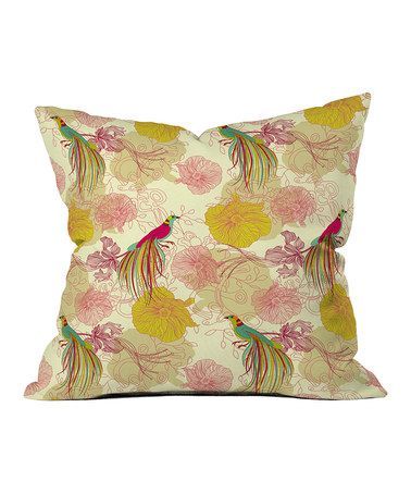 Take a look at this Precious Bird Throw Pillow by DENY Designs on #zulily today! $27 !!