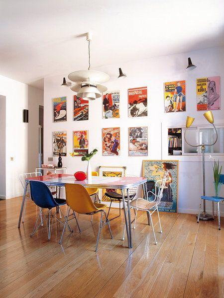 A mesa puesta... comedores decorados con estilo | Comedores ...