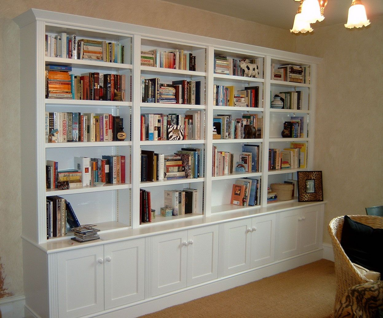 Home Office Library Design Ideas Inspiration Decor Large Bookcase