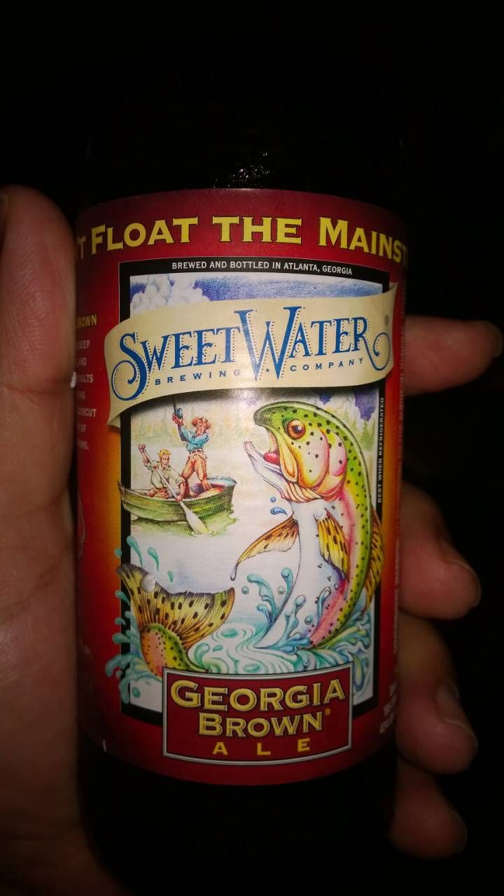 Georgia Brown Ale, Sweet Water Brewing Company, Atlanta GA