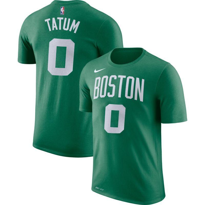 online retailer d061e b7cd5 Nike Youth Boston Celtics Jayson Tatum  0 Dri-FIT Kelly Green T-Shirt,  Size  Medium, Team