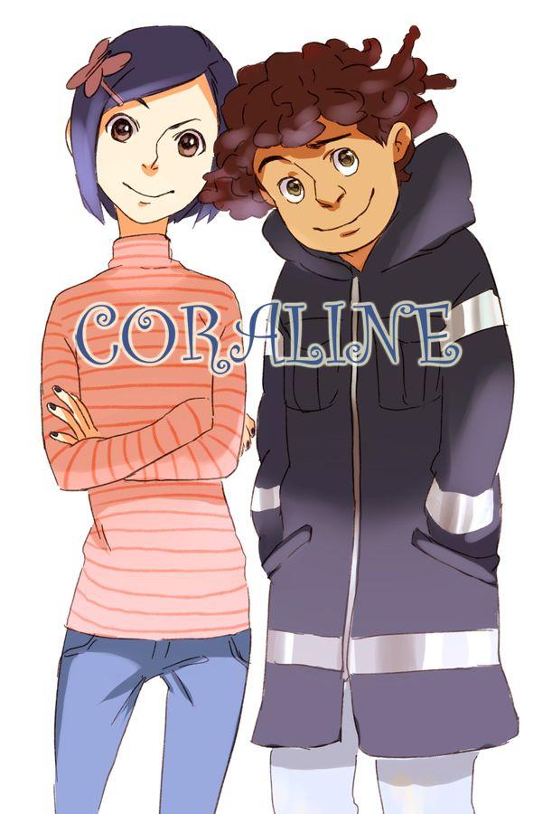 Coraline Fanart 3 By Nadzomiviro On Deviantart Coraline And Wybie Coraline Art Coraline