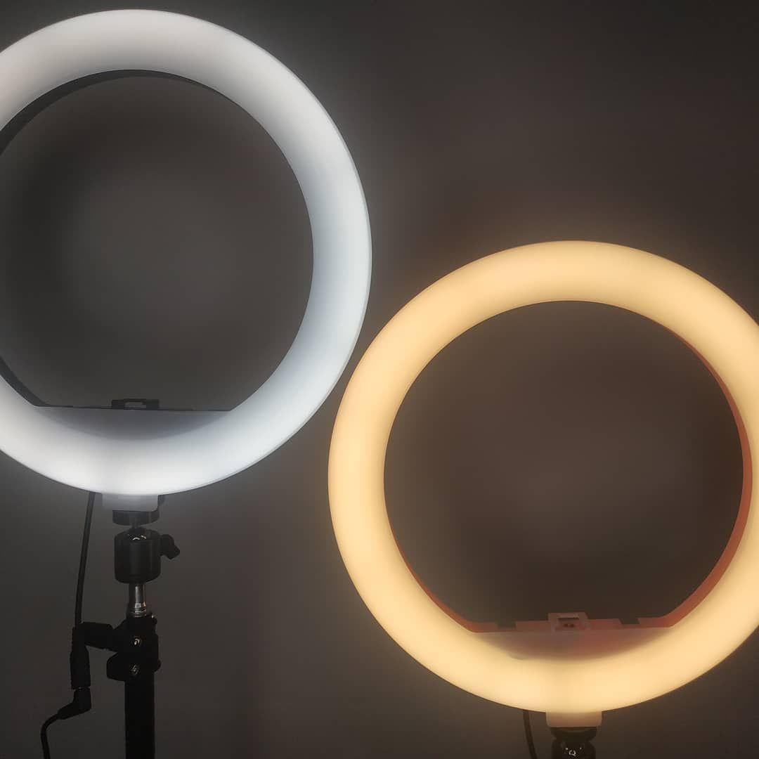 лампа для селфи круглая большая купить