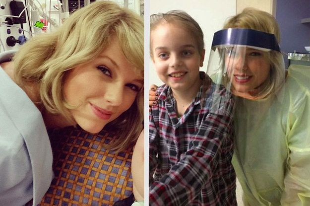 Taylor Swift Surprised Sick Kids At A Children's Hospital In Australia