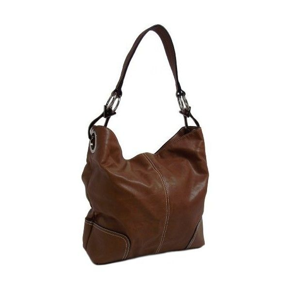 Bucket Hobo Handbag Purse found on Polyvore