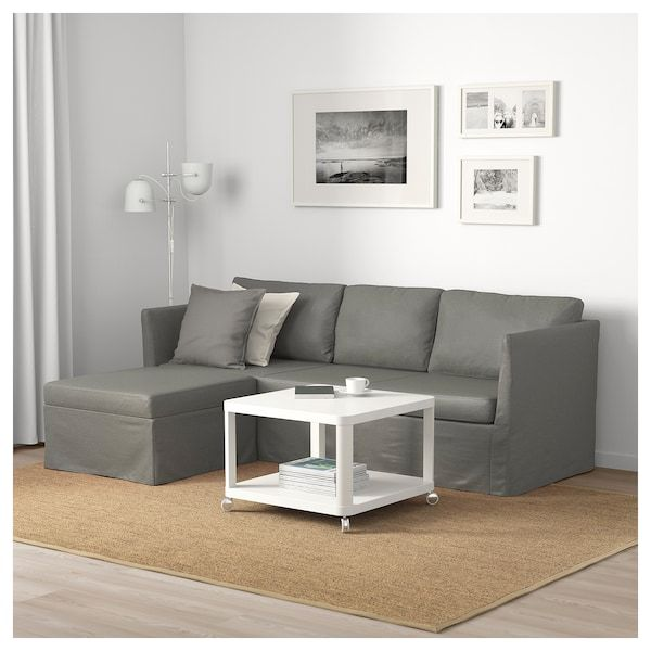 BRÅTHULT Sleeper Sectional, 3-seat