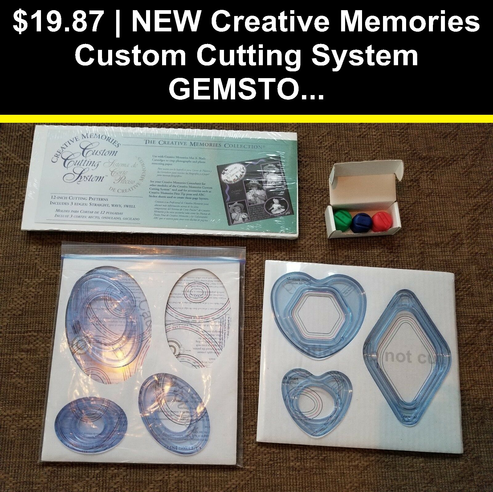 Creative Memories Custom Cutting Tools Oval Pattern