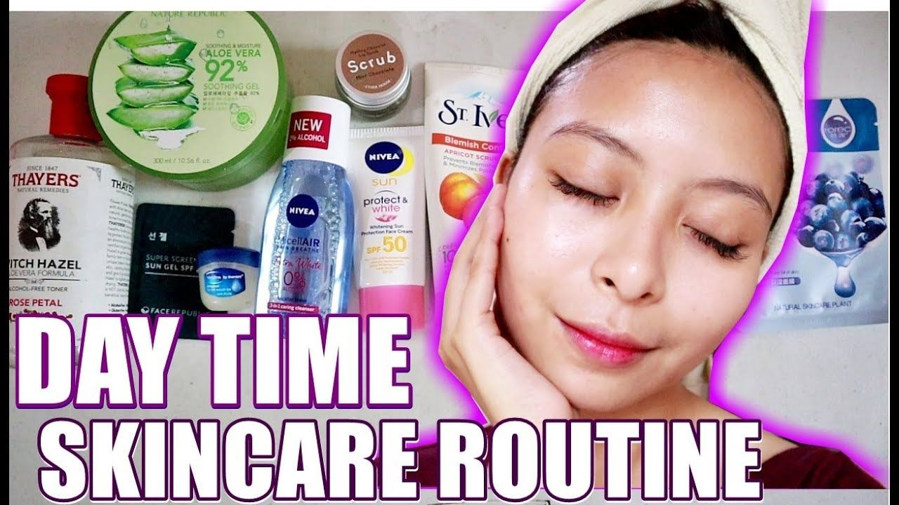 My Tipid Day Time Skincare Routine 2019 Philippines Kath