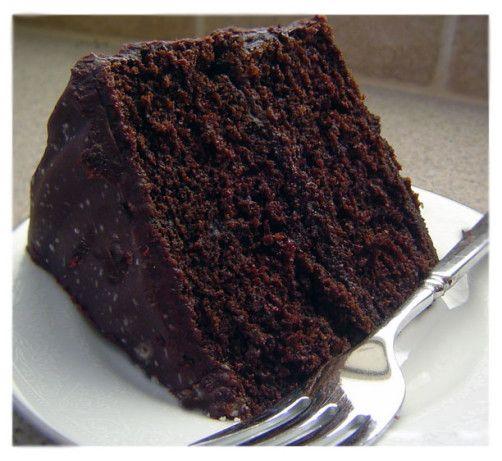 Double Chocolate Layer Cake Recipe Round Cake Pans