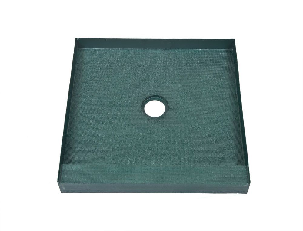 36 X 36 Center Drain Ready To Tile Shower Base Free Shipping