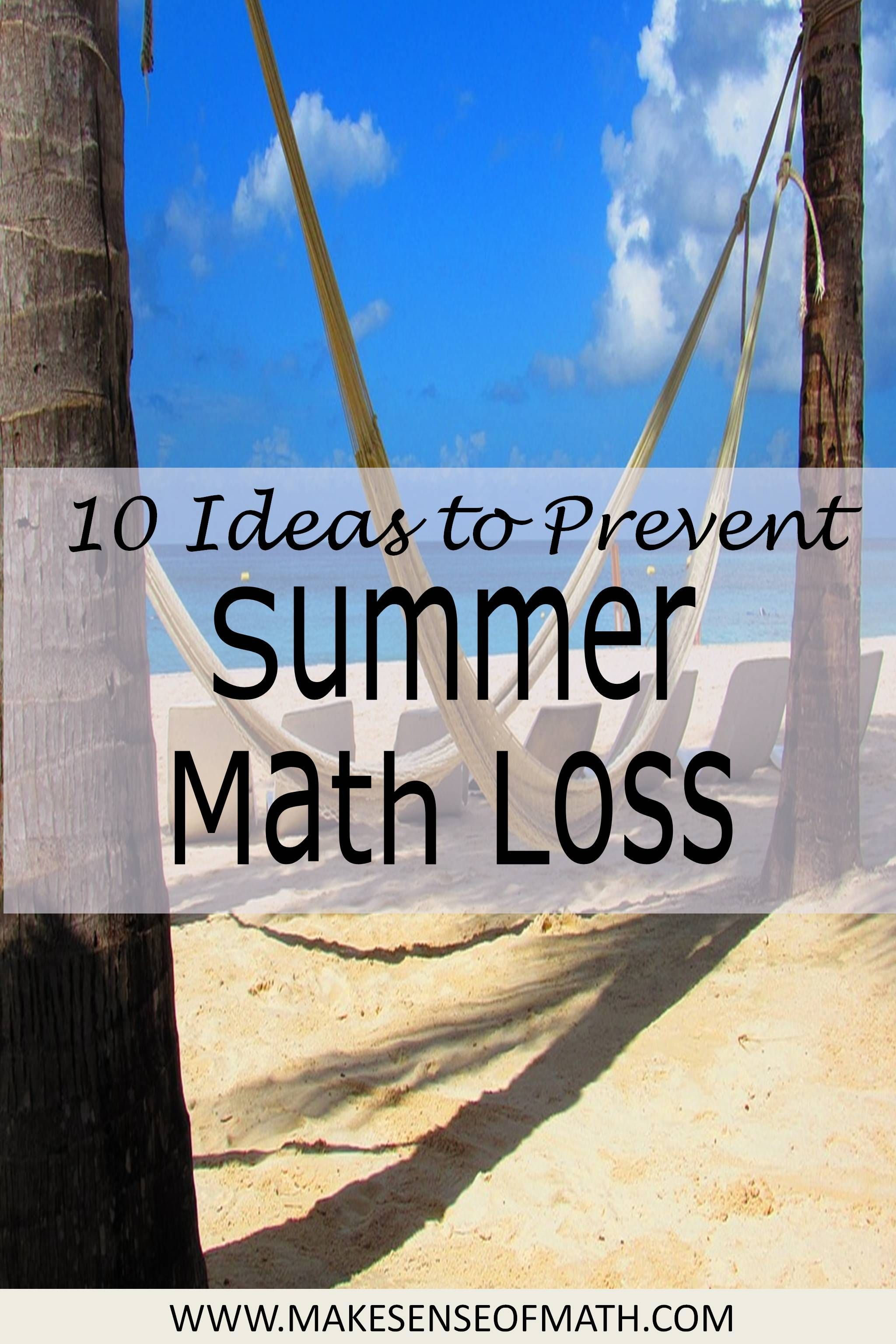 Summer math loss is real, but it is preventable.  Help your middle school math  students engage in math during the summer to prevent math loss.  These are great ideas for any middle school math student to see math in the real-world.  Click on for some great ideas. #mathintherealworld Summer math loss is real, but it is preventable.  Help your middle school math  students engage in math during the summer to prevent math loss.  These are great ideas for any middle school math student to see math i #mathintherealworld