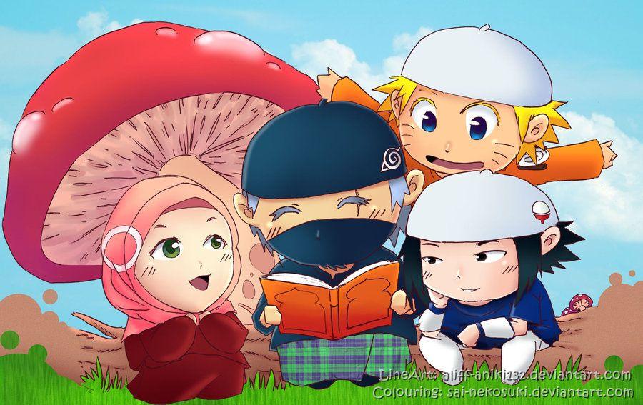 80+ Gambar Naruto Versi Muslim Terlihat Keren