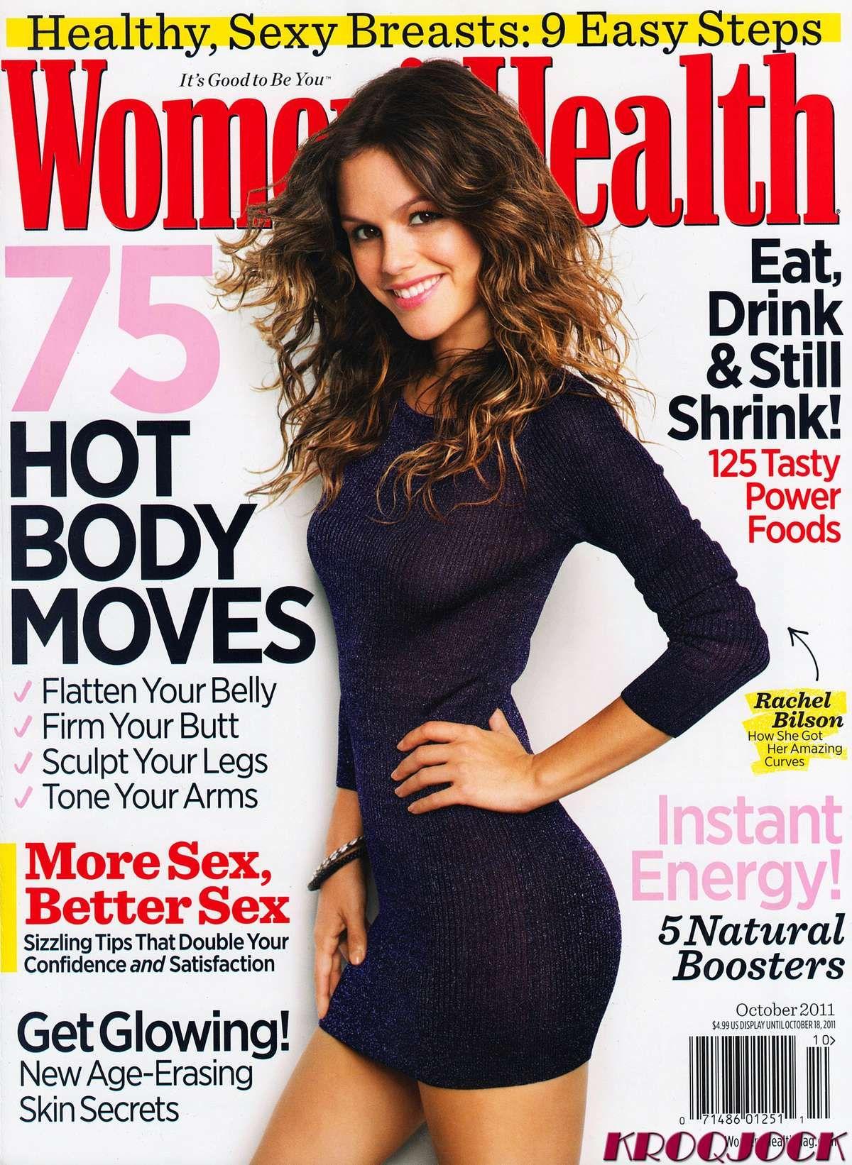 Rachel Bilson looks SO beautiful on the cover of Womens Health #beauty